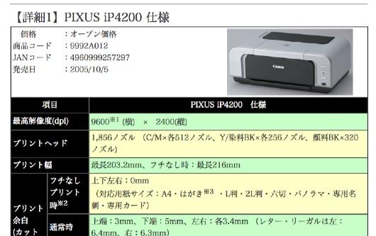 PIXUS_iP4200