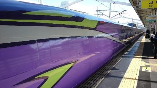 エヴァ新幹線3