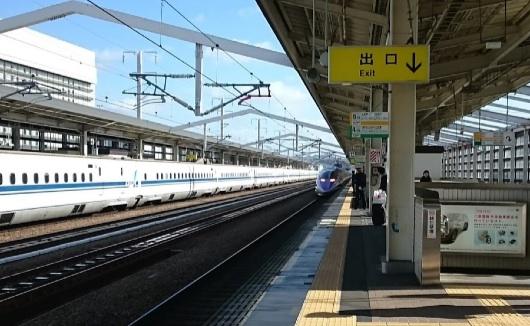 エヴァ新幹線1